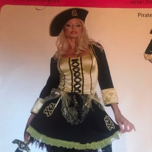 Dresses & Skirts - Seven 'til midnight pirate wench costume small